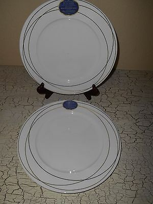 $24.99 • Buy 4 ROSCHER Fine Bone China Real European Gold Dinner Plates