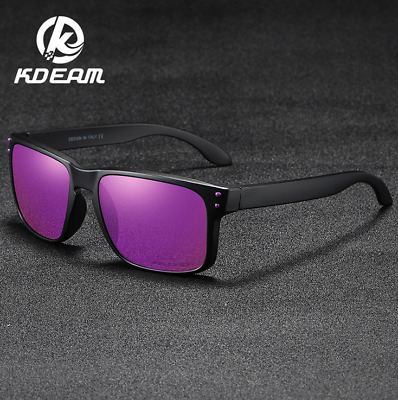 AU12.32 • Buy KDEAM Men's Women Sport Polarized Sunglasses Outdoor Driving Square Glasses New