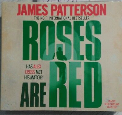 £29.99 • Buy Roses Are Red By James Patterson (CD-Audio, 2010) Rare Audio Book