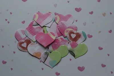 £2.55 • Buy 50 Chic Hearts Valentines Wedding Table Confetti Decorations