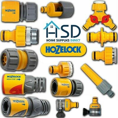 HOZELOCK Quick Connect Outdoor Hose Pipe Tap Connector Garden Hoze Part Fittings • 6.99£