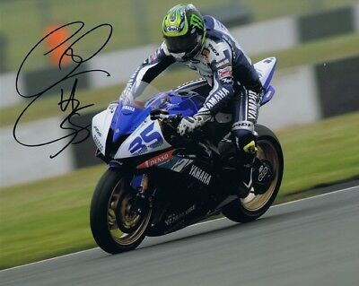 Cal Crutchlow - 2010 World Superbike Championship Autographed 16 X 12 Picture. • 34.99£