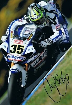 Cal Crutchlow - 2010 World Superbike Championship Autographed 18 X 12 Picture. • 34.99£