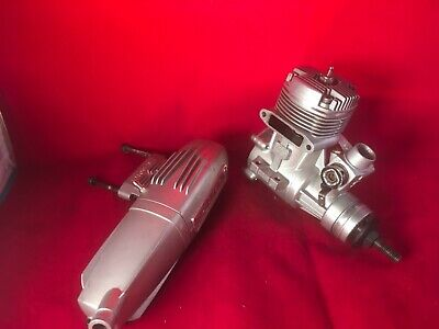 OS 46  46 AX II Two 2 Stroke RC Airplane Engine With Muffler