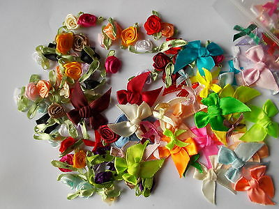 Assorted Bows - Rose Buds- Flowers • 3.25£