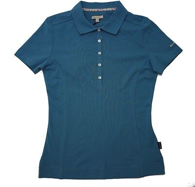 Barbour Womens Thread Polo In Blue • 37£