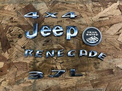 $30 • Buy Emblem Jeep Liberty Badge Decal Symbol Rear Back Door Tailgate Tail Gate