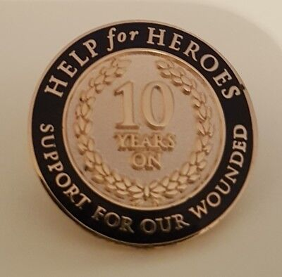 £14.99 • Buy RARE Brand New & Sealed  HELP FOR HEROES OFFICIAL PIN BADGE  (Same Day Dispatch)