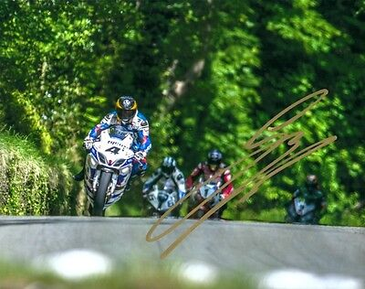 Guy Martin - 2014 Isle Of Man TT Autographed 10 X 8 Pic & We Can Show You Proof. • 25£