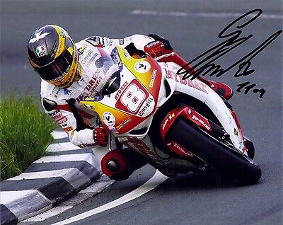 Guy Martin Signed 2009 Isle Of Man TT 15 X 10 Picture & We Can Show You Proof • 39.99£