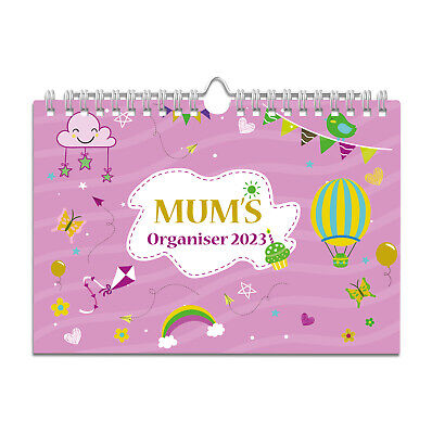 £8.49 • Buy 2022 Mum's Family Organiser,Week-to-view With 6 Columns,wall Planner Calendar