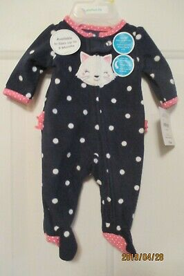 6ce801d77 Preemie Sleeper By Carters Child Of Mine~polka Dots~ruffles On The Bottom~