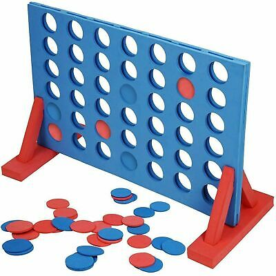 £14.95 • Buy Giant Connect Four 4 In A Row Family Party Game Indoor Outdoor Garden Toy 101311