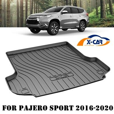 AU89.95 • Buy Heavy Duty Cargo Mat Boot Liner Luggage Tray For Mitsubishi Pajero Sport 2016-21