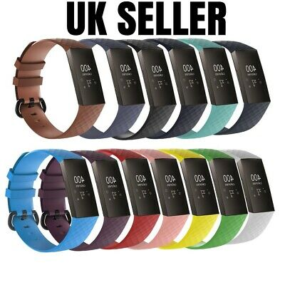 Replacement Strap For FitBit Charge 3 Sports Bracelet Watch Wristband Loop Band • 3.95£
