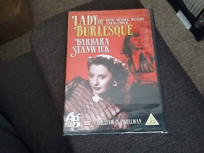 £2 • Buy Lady Of Burlesque  Barbra Stanwick Dvd New And Sealed Freepost