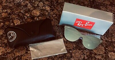 $95 • Buy Ray Ban Sunglasses Cat Eye Blaze Brand New In Box Green