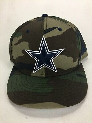 dd1d117a6 Official Dallas Cowboys NFL Vintage Camo New Era 59FIFTY Fitted Hat 7-1/2