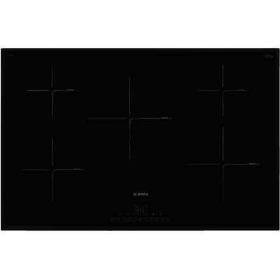 Bosch PIV851FB1E Serie 6 80cm 5 Burners Induction Hob Touch Control Black • 828£