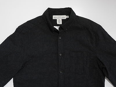 H&M Label Of Graded Goods LOGG L.O.G.G.Button Down Shirt Small New Mens Dobby  • 25$