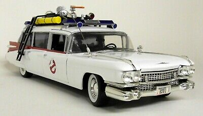 Joyride 1/21 Scale 33538 Ghostbusters Ecto 1 + Slimer 1959 Cadillac Diecast Car • 129.99£