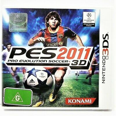 AU25 • Buy Pro Evolution Soccer 3d 2011 3ds Game  Vgc  Auz Seller