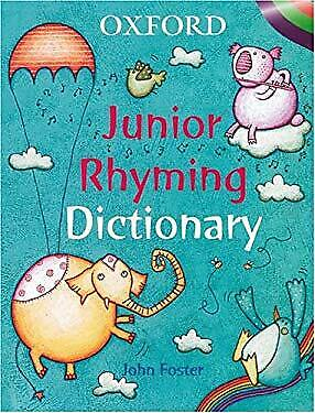 Oxford Junior Rhyming Dictionary Hardcover • 5.07£