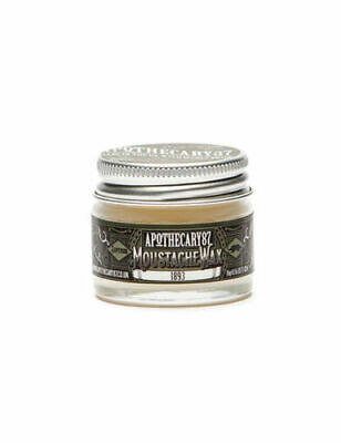 Apothecary 87 Mens Firm Strong Powerful Hold Moustache Tash Mo Wax 16g • 199.99£