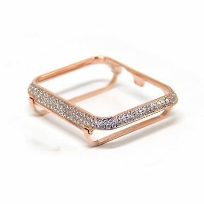 $ CDN81.63 • Buy Crystal Diamond Bezel Rose Gold For Apple Watch 38mm Series 3 2 1
