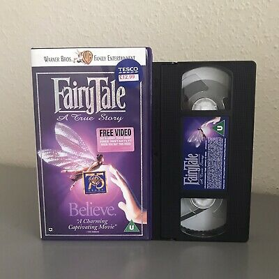 Fairy Tale A True Story - Vhs Video - Fairytale - Kids / Childrens • 2.95£