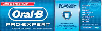 View Details Oral B Pro Expert Toothpaste Professional Protection Clean Mint 75ml 2,3 Or 6 • 5.99£