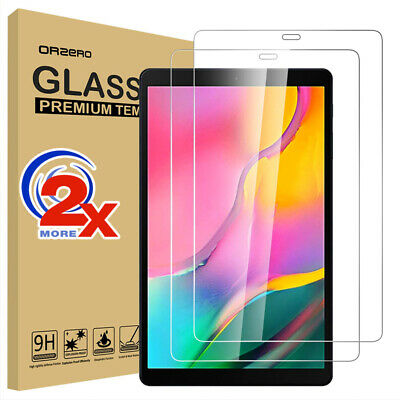 AU10.99 • Buy 2x Tempered Glass Screen Protector For Samsung Galaxy Tab A 10.1  2019 T510 T515