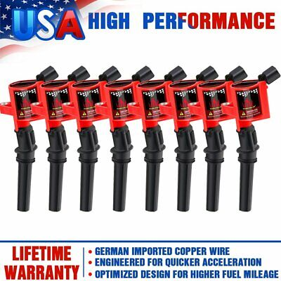 $36.99 • Buy 8 Ignition Coil Pack For Ford F150 Expedition 2000 2001 2002 2003 2004 4.6L/5.4L