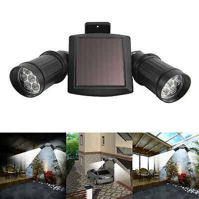 14 LED Solar Powered PIR Motion Sensor Security Spotlight Outdoor Garden Light • 17.99£