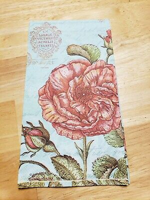 £2.17 • Buy Paper Napkins/crafts/decoupage - French Floral X 2 - Dinner 15 2/3 X 11 2/3