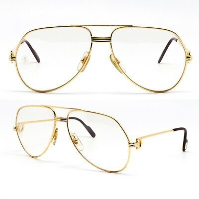 44a0c5bc93 Gafas Cartier Vendome Louis De Sol Vintage Photocromic Nuevo Old Stock 80's  • 1,575€