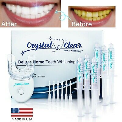 $ CDN52.88 • Buy Hismile Comparable Teeth Whitening Kit By Crystal Clear Teeth Whitening USA