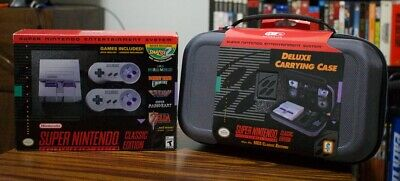 $ CDN228.46 • Buy SNES Classic US Bundle W/ Case - Authentic, New In Box, Out Of Production