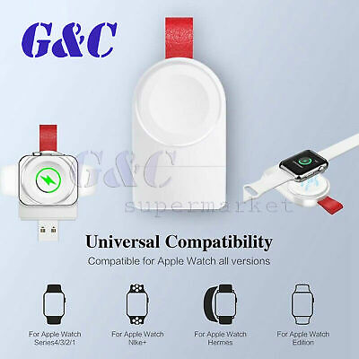 $ CDN7.88 • Buy For Apple Watch IWatch Series 1/2/3/4 Dock Adapter Charging QI Wireless Charger