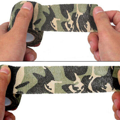 £0.99 • Buy Outdoor Camping Waterproof Camo Gun Hunting Camouflage Stealth Duct Tape Wrap
