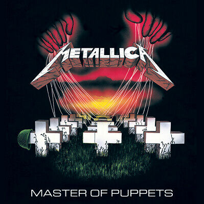Metallica Framed Canvas Print Master Of Puppets 40 X 40 Cm DC95984C • 19.99£