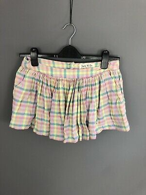 JACK WILLS Skirt - Size UK10 - Check - Great Condition - Women's • 19.99£