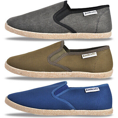 View Details Lambretta Mens Kyak Slip On Espadrille Summer Holiday Shoes ONLY £12.99 Free P&P • 12.99£