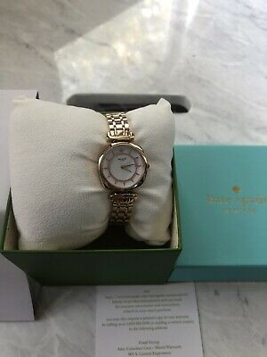 $ CDN89.30 • Buy NWT Kate Spade Barrow White Dial Ladies Rose Gold-tone Watch KSW1322 $250