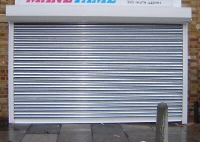£108.91 • Buy Galvanised Shopfront Steel High Security Roller Shutter - Rentals Available