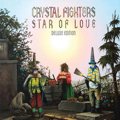 Crystal Fighters : Star Of Love CD Deluxe  Album (2011) FREE Shipping, Save £s • 4.99£