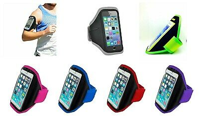 Apple IPhone GymBand Running Armband Jogging Sports Exercise Phone Holder Strap  • 4.39£