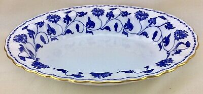 £57.03 • Buy Copeland Spode Blue Colonel Open Vegetable Bowl Bone China England Floral
