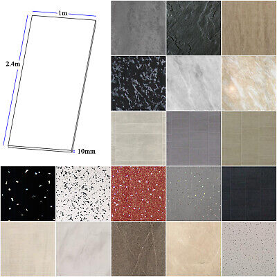 £49.50 • Buy Large 1000mm Wide X 2.4m Shower Panels Bathroom Wet Wall Cladding PVC 10mm Thick