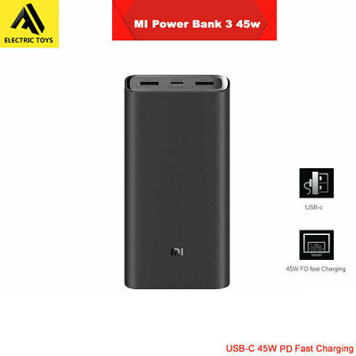 AU59.98 • Buy New Xiaomi' Power Bank 3 Pro 20000mAh 2-Way USB-C 45W PD QC3.0 Fast Charge